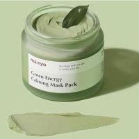 Успокаивающая глиняная маска для лица с зеленым чаем Manyo 75 мл