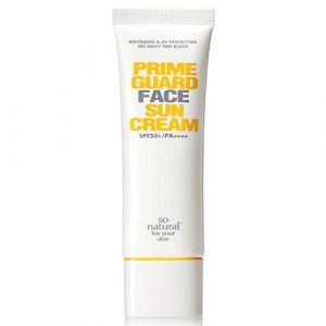 Солнцезащитный крем для сухой и нормальной кожи SPF50+ PA++++ So Natural 50 мл