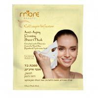 Антивозрастная тканевая Маска «Чистый коллаген» More Beauty Anti-Aging Firming Sheet Mask, 18 мл