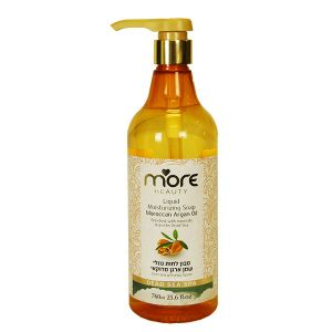 Жидкое мыло (гель для душа) увлажняющее More Beauty, Аргановое Масло 760 мл