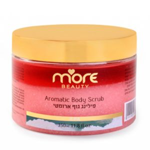 Ароматический скраб для тела «Роза» More Beauty Aromatic Body Scrub, 350 мл