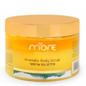 Ароматический скраб для тела «Ваниль» More Beauty Aromatic Body Scrub, 350 мл