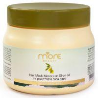 "Маска ""Олива"" для восстановления и ухода за очень сухими волосами, с провитамином В5 More Beauty Hair Mask Olive Oil, 250 мл"