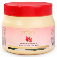 """Маска """"Гранат"""" для сухих и окрашенных волос, с провитамином В5 More Beauty Pomegranate Hair Mask, 250 мл"""