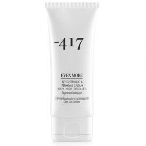Укрепляющий крем для шеи и декольте, с эффектом сияния Minus 417 brightening & firming cream for neck body decollete, 100 мл