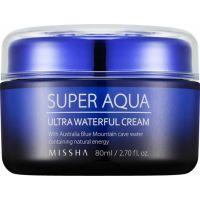 Интенсивный увлажняющий дневной крем для лица MISSHA Super Aqua Ultra Waterful Cream 80 мл