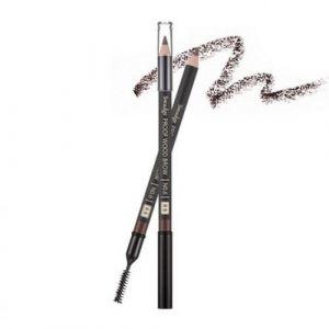 Контурный карандаш для бровей Smudge Proof Wood Brow (Black) MISSHA 1 г