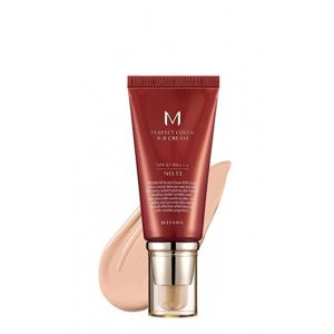 Тональный крем MISSHA M Perfect Cover BB Cream SPF42/PA+++ (№.21/Light Beige) 50 мл