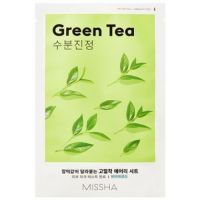 Маска для лица Airy Fit Sheet Mask (Green Tea) MISSHA 19 г