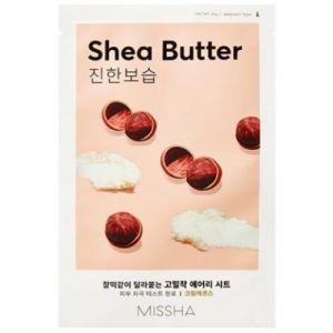 Маска для лица Airy Fit Sheet Mask (Shea Butter) MISSHA 19 г