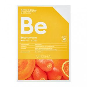 Маска для лица MISSHA Phytochemical Skin Supplement Sheet Mask (Betacarotene/Nourishing) 25 мл