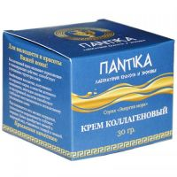 Коллагеновый крем Серия «Энергия моря» Pantika 30 г