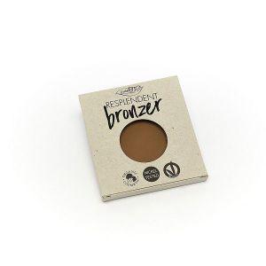 Бронзер 01 бледно-коричневый рефил Purobio 9 г