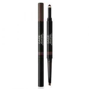 Двусторонний карандаш для бровей, тон №42 Эспрессо Ga-de Velveteen Brow Builder Duet