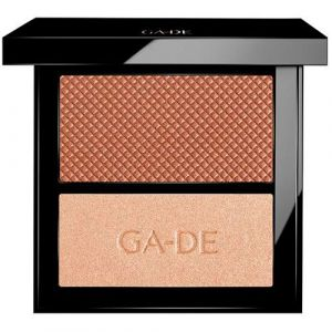 Дуэт румяна и Шиммер VELVETEEN Bronze & Glow тон № 22 Ga-de velveteen blush and shimmer duet 7,4 г