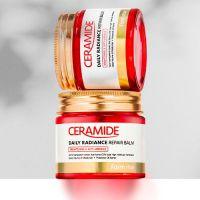 Укрепляющий крем-бальзам для лица с керамидами FarmStay Ceramide Daily Radiance Repair Balm 80 мл