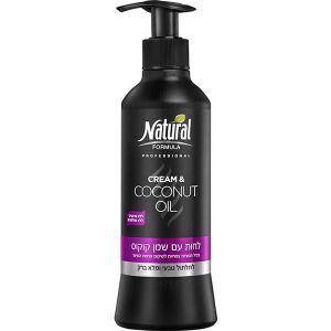 Крем для волос с кокосовым маслом Natural Formula moisturizer with coconut oil 400