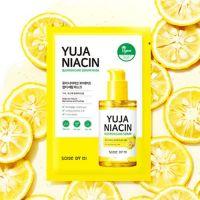 Витаминная тканевая маска для выравнивания тона Some By Mi Yuja Niacin Blemish Care Serum Mask 25 г*10