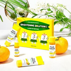Витаминный набор миниатюр для выравнивания тона Some By Mi Yuja Niacin 30 Days Brightnening Solution 4-step 30 мл+10 мл+30 г+20 г