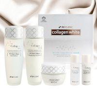 Набор для сияния кожи с коллагеном 3W Clinic Collagen Whitening Skin Care Items 3 Set 150 мл+15 мл+150 мл+15 мл+60 мл