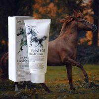Крем для рук с лошадиными маслом 3W Clinic Horse Oil Hand Cream 100мл