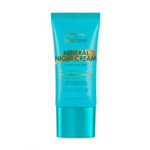 Минеральный ночной крем для всех типов кожи SeeSee mineral night cream all skin types 50 мл