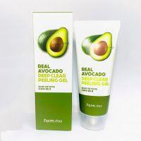 Отшелушивающий гель с экстрактом авокадо FarmStay Real Avocado Deep Clear Peeling Gel 100 мл