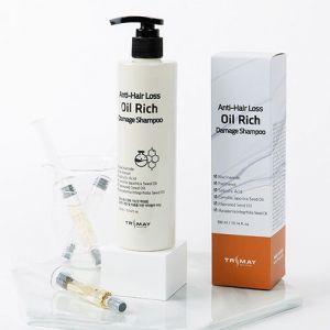 Питательный шампунь для уставших волос Trimay Anti-Hair Loss Oil Rich Damage Shampoo 300 мл