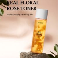 Тонер с лепестками розы Nacific Real Floral Toner Rose 150 мл