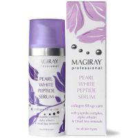 Жемчужный омолаживающий серум для кожи с пигментацией Magiray Pearl White Peptide Serum 30 мл