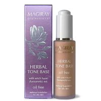 Антисептическая тональная основа для макияжа SPF 6 Magiray herbal tone base spf-6 30мл.