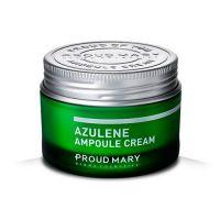 Крем с азуленом для чувствительной кожи Proud Mary Azulene Ampoule Cream 50 мл
