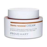 Антивозрастной укрепляющий крем для лица со стволовыми клетками эдельвейса Proud Mary Stems Renewal Cream 50 мл
