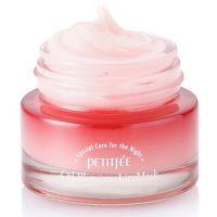 Заживляющая ночная маска для губ Petitfee Oil Blossom Lip Mask 15 г