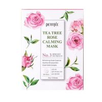 Успокаивающая тканевая маска с экстрактом чайного дерева и розы Petitfee Tea Tree Rose 30 г