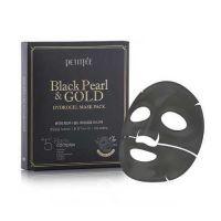 Гидрогелевая маска для лица с черным жемчугом и золотом Petitfee Black Pearl & Gold Hydrogel Mask Pack 32 г