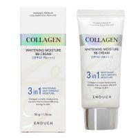 Осветляющий и увлажняющий BB-крем с коллагеном 3 в 1, SPF 47 Enough 3 in 1 Collagen Whitening Moisture BB Cream SPF47 PA+++ 50мл
