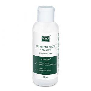 Антисептическое средство «Тоталдез» против бактерий, 100 мл Domix Green Professional Green antiseptic flip-top midi 100мл