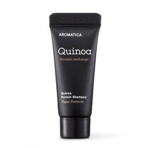 Бессульфатный шампунь c протеинами для повреждённых волос в дорожном формате Aromatica Quinoa Shampoo 20 мл