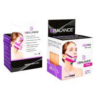 Шелковый кинезио тейп для лица бежевый 2,5 см BBalance FaceTape Ice Bige 2 рулона (2,5см*5м)