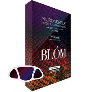 Микроигольные патчи для лба с пептидом змеи «От мимических морщин» BLOM Microneedle Patches For Forehead Syn-Ake 2 шт.
