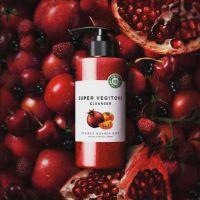 Очищающая детокс-пенка «Овощи» выравнивает тон кожи Wonder Bath Super Vegitoks Cleanser-Red 200мл