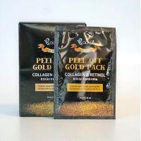 Золотая маска-пленка «Коллаген и Ретинол» Boon7 Peel Off Gold Pack 10 шт*10 г
