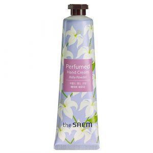 Крем для рук парфюмированый «детская присыпка» (с экстрактом лилии) The Saem Perfumed Hand Cream Baby Powder 30мл