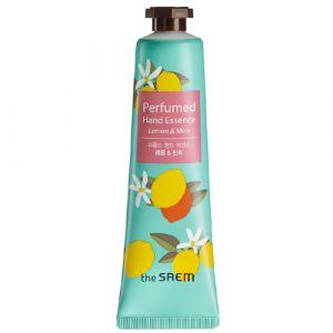 Парфюмированая крем эссенция для рук «Лимонная Мята» The Saem Perfumed Hand Essence Lemon Mint 30мл