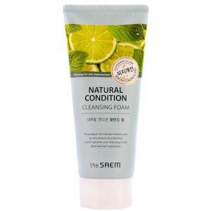 Пенка для умывания жирной кожи The Saem Natural Condition Jelly Cleanser Sebum Controlling 150 мл