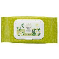 Салфетки очищающие с экстрактом зеленого чая The Saem Healing Tea Garden Green Tea Cleansing Tissue 60шт
