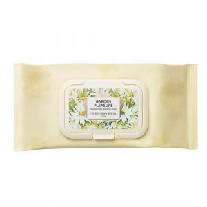 Салфетки очищающие с экстрактом ромашки The Saem Garden Pleasure Chamomile Cleansing Tissue 100 шт