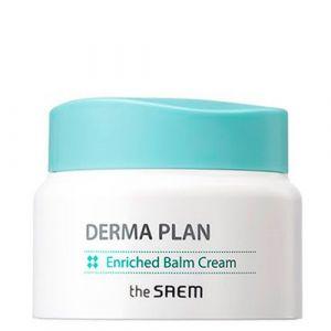 Крем-бальзам для чувствительной кожи The Saem Derma Plan Enriched Balm Cream 60 мл