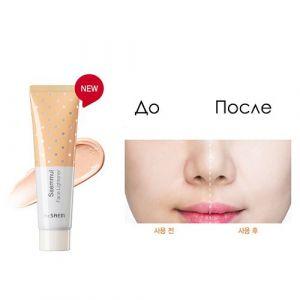Легкая основа под макияж для успокоения кожи «Белая» SPF 30 PA++ The Saem Saemmul Face Lightener SPF 30 PA++ 04 Milk Light 30мл